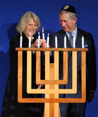 Illustration for article titled Prince Charles And Camilla: In It For The Latkes