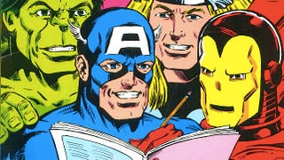 Illustration for article titled Completely insane Avengers coloring book asks kids to enter the maze in Hulk's pants