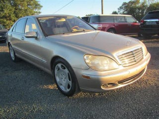 Illustration for article titled 2005 Mercedes-Benz S 600 $9,995