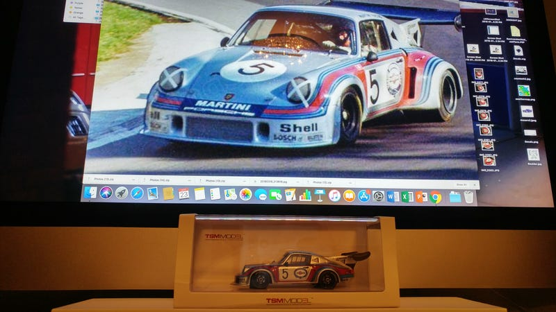 Illustration for article titled Car Week 2018, Saturday (Wildcard): #5 Martini Porsche 911 Carrera RSR Turbo 2.1