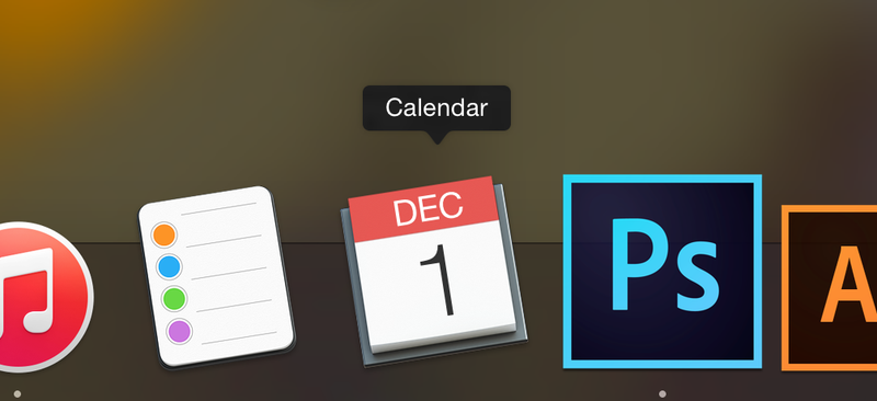 Illustration for article titled The Fucking Mac Calendar 1 Is Now Off Fucking Center Too!
