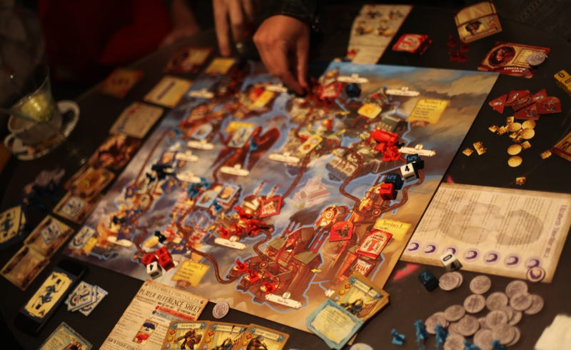Illustration for article titled BioShock Infinite Has A Board Game And It's Brutal