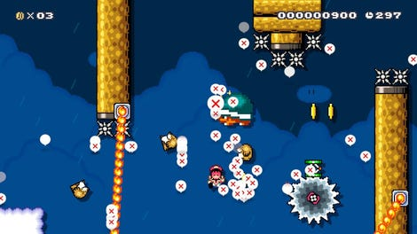 Nintendo Deletes Another Of GrandPooBear's Mario Maker Levels