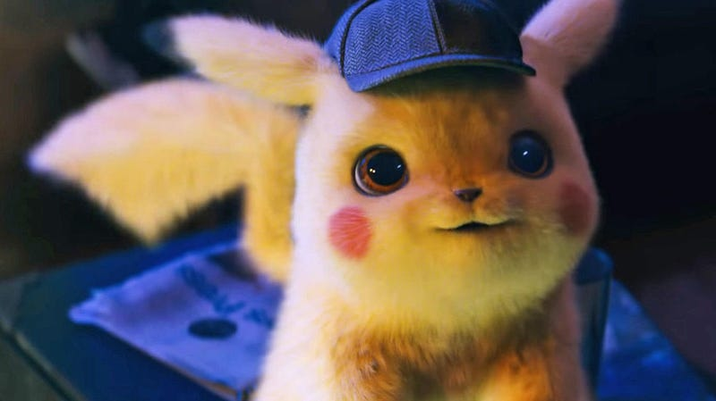 Pikachu is the cutest child.