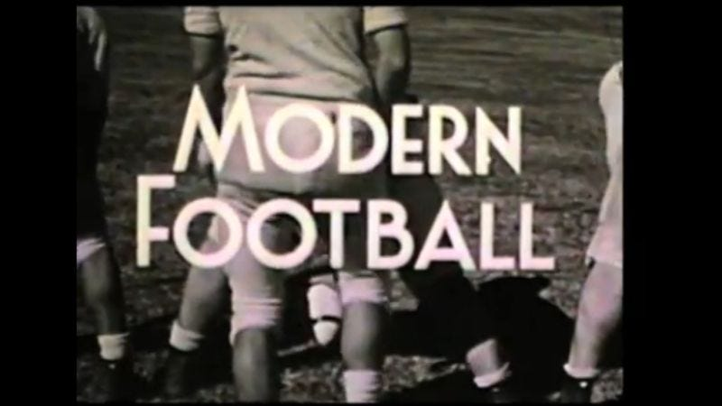 Illustration for article titled Watch Robert Altman's long-lost short film, Modern Football