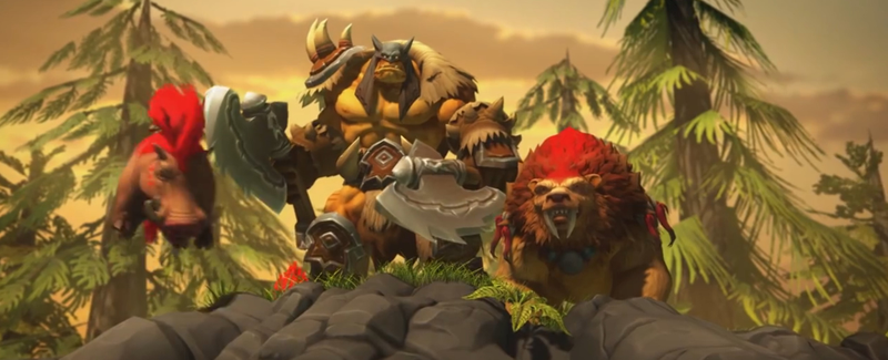 Illustration for article titled Heroes Of The Storm's Rexxar/Misha Combo Is A New Kind Of MOBA Character
