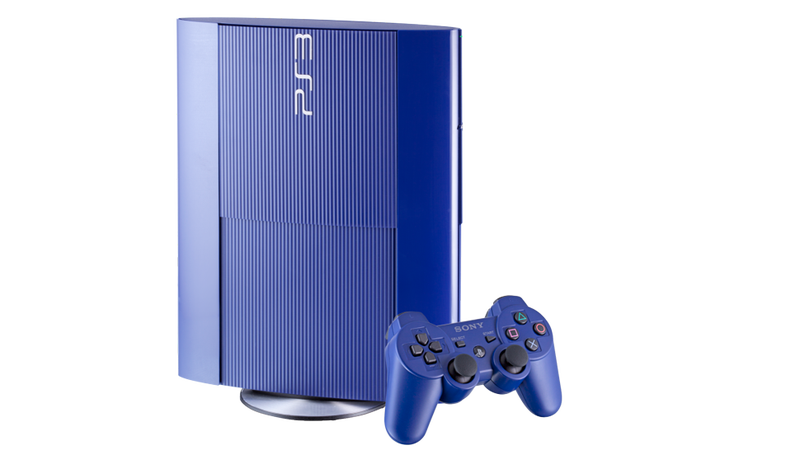 Illustration for article titled And The Newest PS3 Color Is... Blue