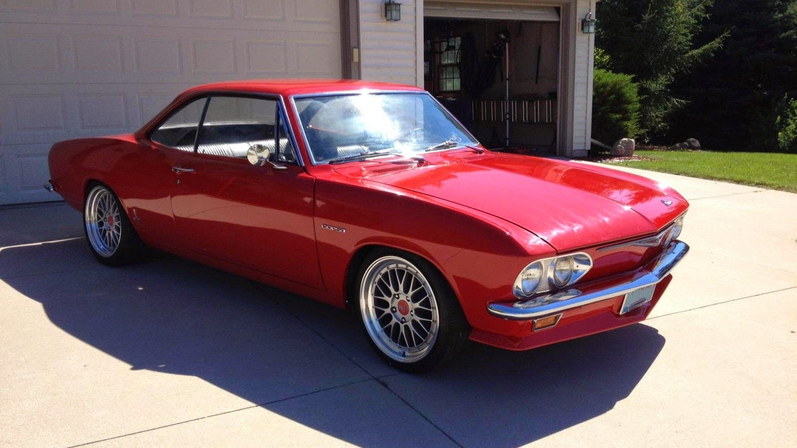 This 65 Corvair Corsa Turbo Is Just About Perfect
