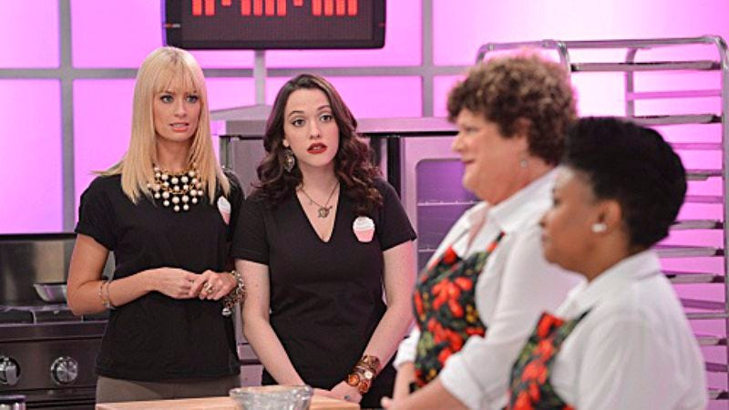 """Illustration for article titled 2 Broke Girls: """"And The Cupcake War"""""""