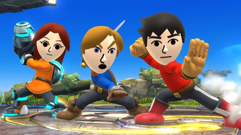 Illustration for article titled How to Create a Mii Fighter in Super Smash Bros for 3DS