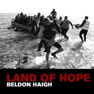 Illustration for article titled Protest song writer Beldon Haigh returns with 'Land of Hope'