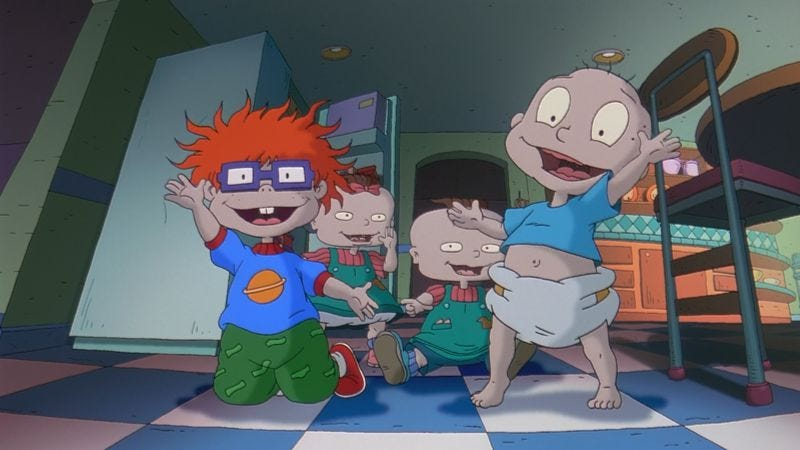 Illustration for article titled Nickelodeon mulls revamping, relaunching Rugrats, Hey Arnold!, more