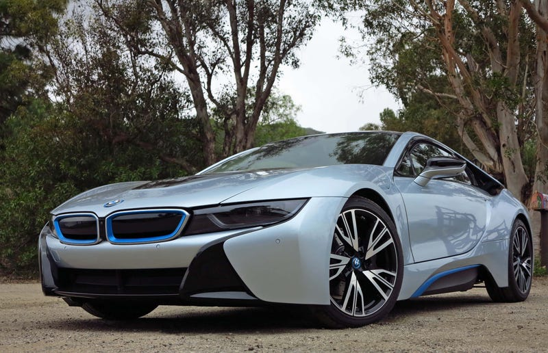 Illustration for article titled Do you consider the BMW i8 a supercar?