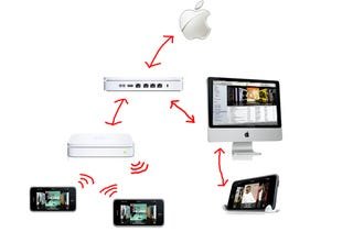 Illustration for article titled Apple Patent: Stream Your Entire iTunes Library From Anywhere