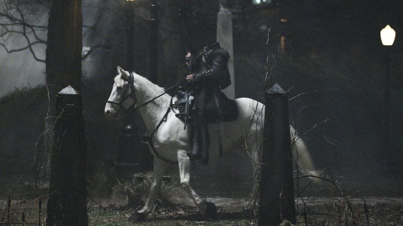 Illustration for article titled Sleepy Hollow starts up, surprising us by not being a complete clusterfuck
