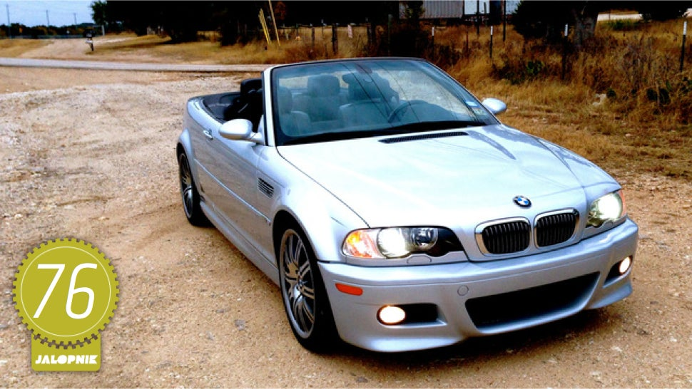 2003 bmw m3 convertible the jalopnik review rh jalopnik com BMW Plates BMW M3 Manual Transmission