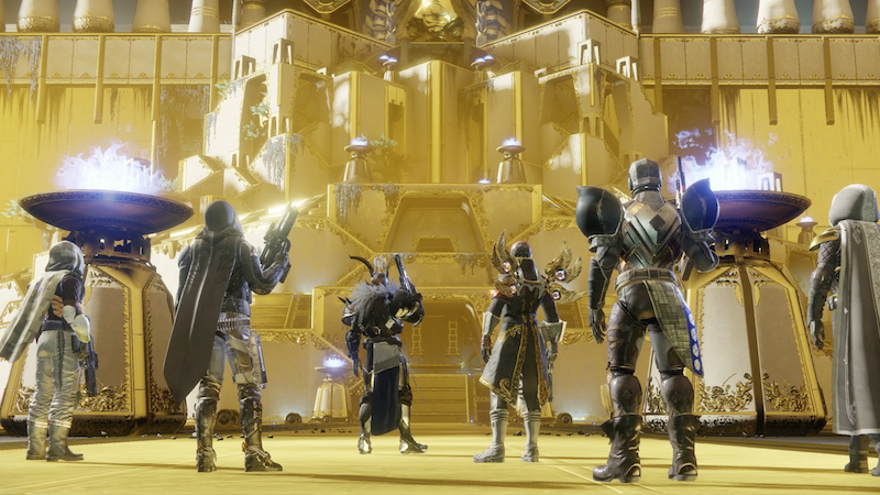Illustration for article titled Destiny 2 Players Discover Humorously Elaborate Raid Exploit