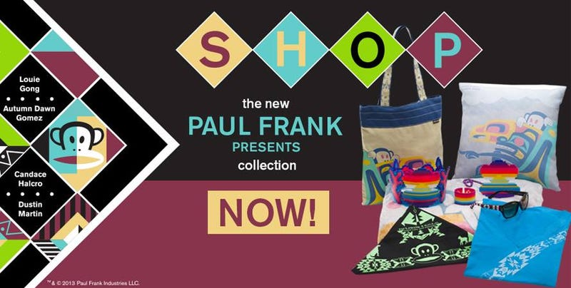 Illustration for article titled Paul Frank X Native Designers Collection on sale today