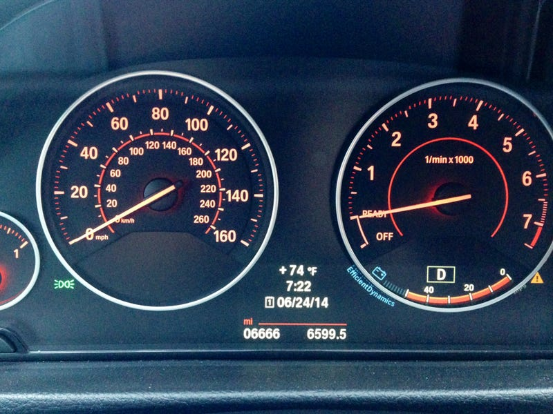 Illustration for article titled Odometer this morning.  Bad sign?