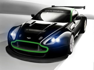 Illustration for article titled The E85-Powered Aston Martin Vantage GT2: The Hottest Thing Since The Cornballer