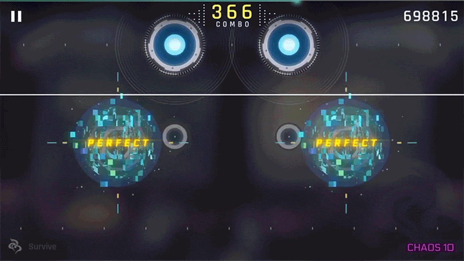 Rhythm Games Don't Get Much Cooler Than Cytus II