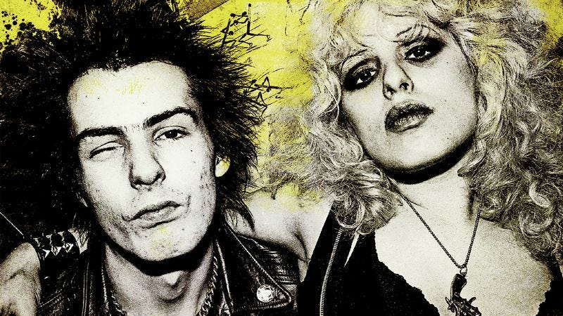 Illustration for article titled Love kills in these exclusive clips from Sad Vacation: The Last Days Of Sid And Nancy