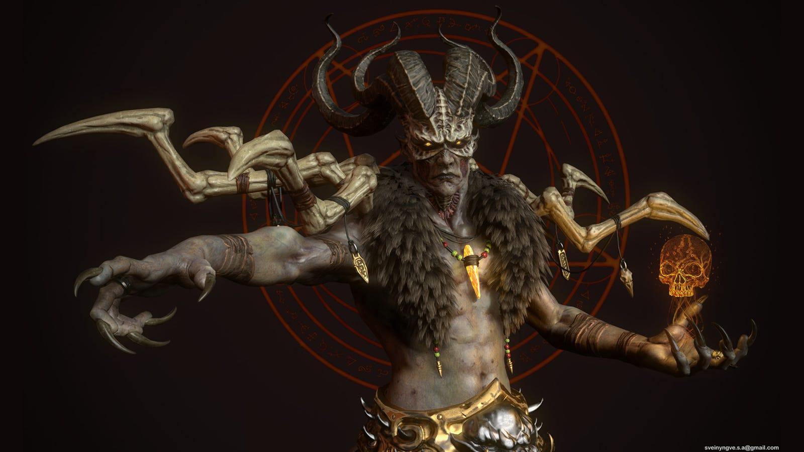 Diablo II's Final Boss, Looking Unusually Badass Baal Diablo 3