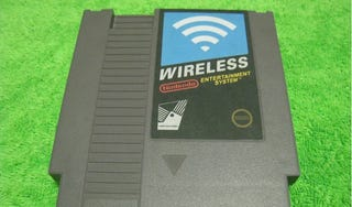 Illustration for article titled Mod an NES Cartridge into a Wireless Router