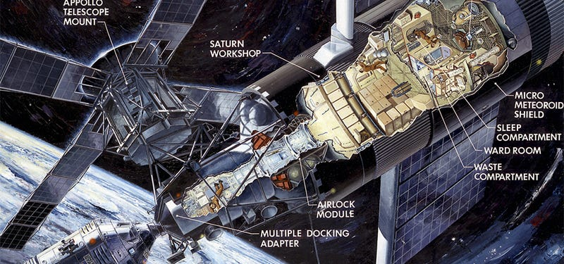 Illustration for article titled Get lost in these fascinating spacecraft cutaway illustrations
