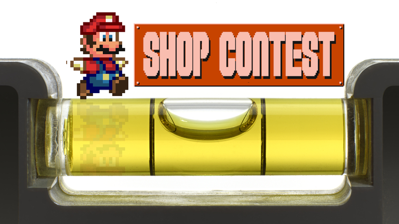 Illustration for article titled Kotaku 'Shop Contest: Don't Need A Game To Make Mario Levels