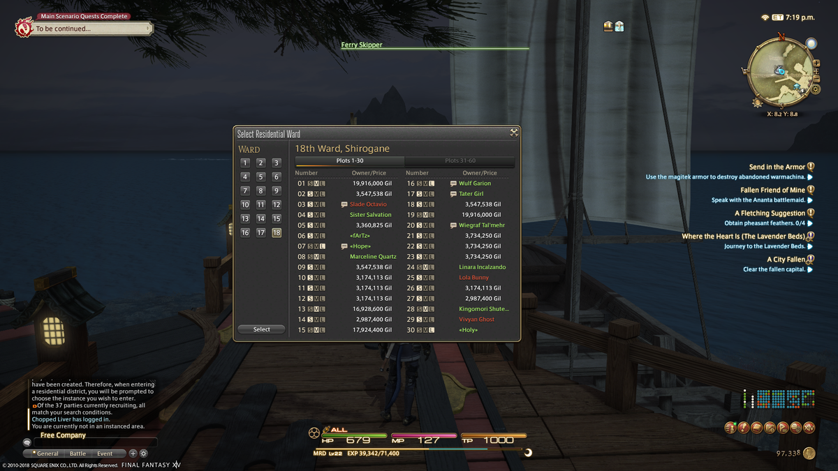 Final Fantasy XIV's Almost Got Its Player Housing Problem Under Control
