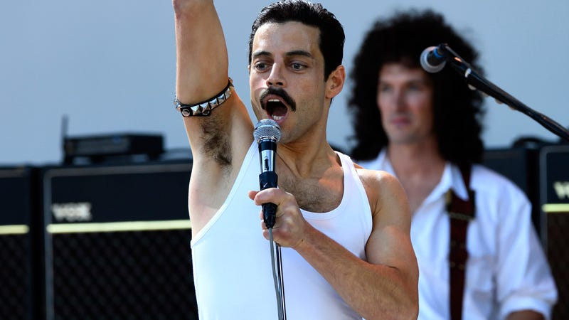 Illustration for article titled Rami Malek Got Big Fake Teeth for Bohemian Rhapsody,But They Could've Been Bigger