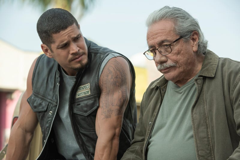 J.D. Pardo and Edward James Olmos star in Mayans M.C.