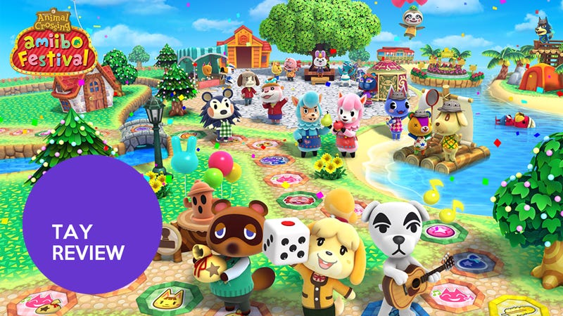 Illustration for article titled Animal Crossing: Amiibo Festival: The TAY Review