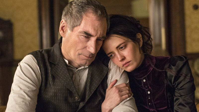 Timothy Dalton, Eva Green/Showtime