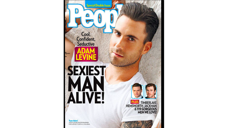 Illustration for article titled TERRIBLE NEWS ALERT: Adam Levine Is Confirmed as Sexiest Man Alive
