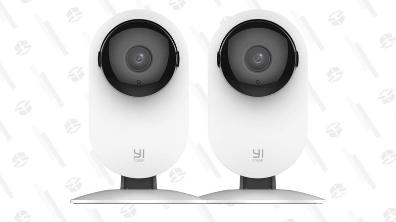 2-Pack Yi Home Security 1080p Cameras | $51 | Amazon | Promo code MDV7ZSZR