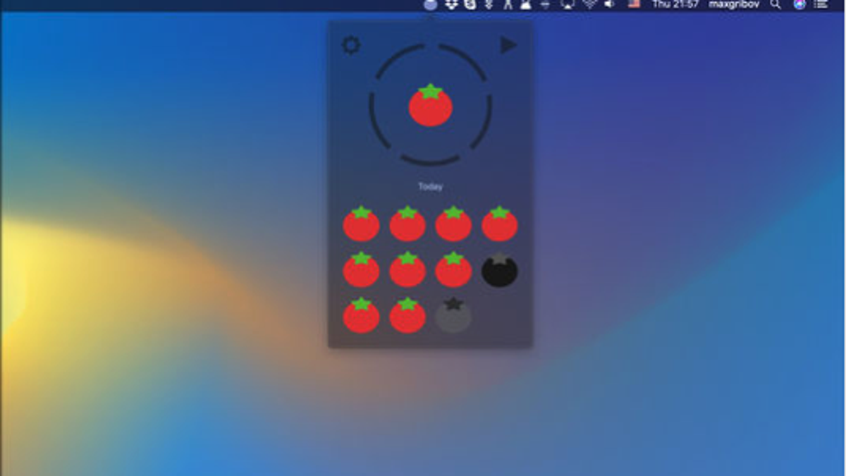 Add a Pomodoro Timer to Your Mac's Taskbar With this App
