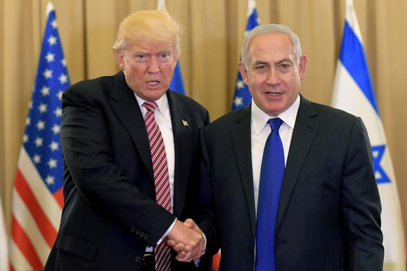 Trump discusses peace without calling for a Palestinian state