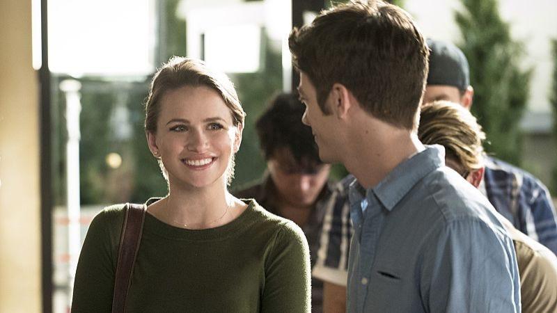 Shantel VanSanten, Grant Gustin/The CW