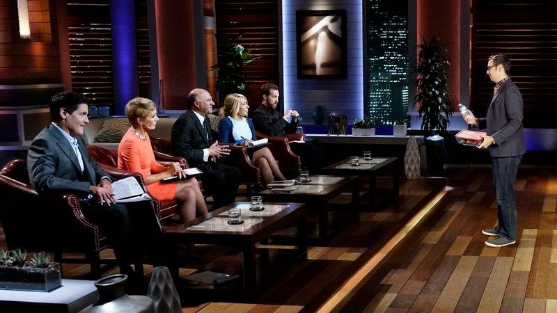 The judges of 'Shark Tank'.