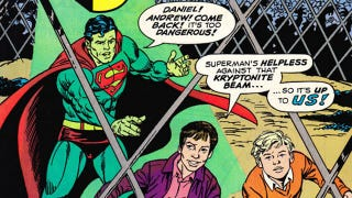 Illustration for article titled The time a billionaire bought his son a starring role in a Superman comic
