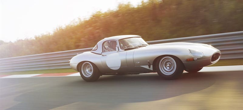 Illustration for article titled Driving Jaguar's Perfect Lightweight E-Type Coupe