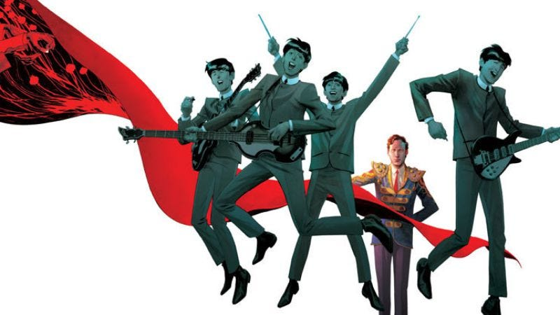 Illustration for article titled New comic book releases include The Fifth Beatle