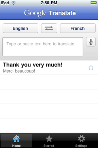Illustration for article titled Google Translate Brings Speak-to-Translate and Offline Phrase Storage to iPhone