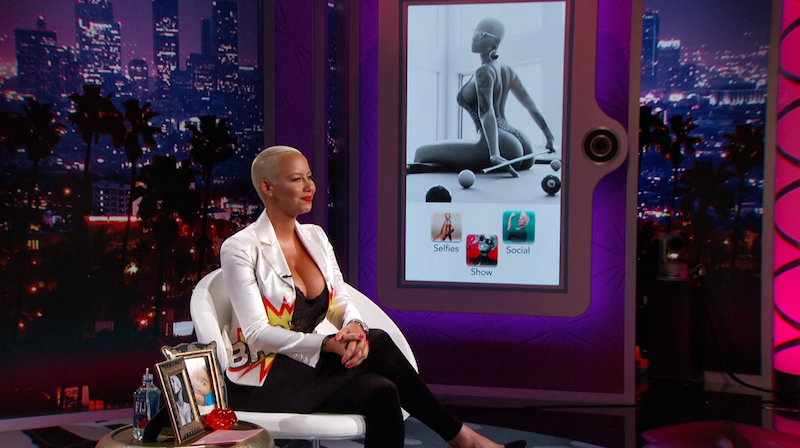 Illustration for article titled Amber Rose's Talk Show Needs Less Scripting, More Amber