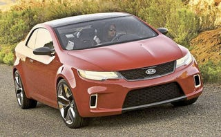"""Illustration for article titled Kia To Get First-Ever Coupe In 2009, May Replace """"Spectra"""" Name"""