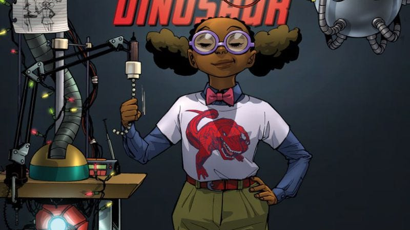 Illustration for article titled Moon Girl And Devil Dinosaur and Moana kick off the next generation of superheroes