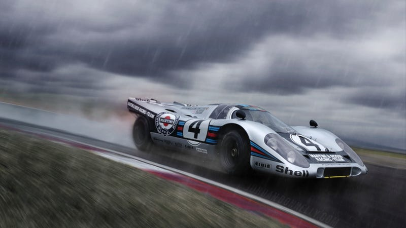 Illustration for article titled Your Ridiculously Awesome Porsche 917K Wallpaper Is Here