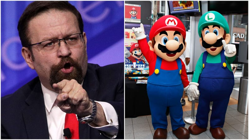Illustration for article titled This week in Sebastian Gorka's deviant cartoon watch: A parody Nintendo account